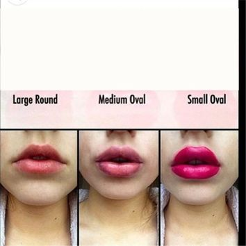 Professional red Sexy Full lip Plump Plumper Red Lips Suction Enhancer Device Round Increase lips Makeup Beauty Tools For Women