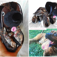 Staffordshire Terrier stuffed Animal Decor Brindle BOXER Dog Soft Toy Great Dane Bullmastiff Pug Cuddly Puppy Handmade ooak MADE to ORDER