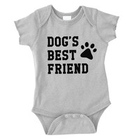 Dog's Best Friend Infant Onesuit