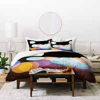 Leonidas Oxby Friday Night Lights Duvet Cover