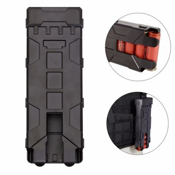 Tactical Reload Shotgun Magazine Pouch 10 Rounds 12GA 12 Gauge Ammo Shells Molle Box