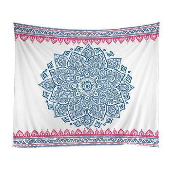 New Arrive Indian Tapestry Yoga Print Decor Mandala Zen Wall Meditation Batik Hippie Sign  Tapestry Indian Hanging Dorm Tapestry