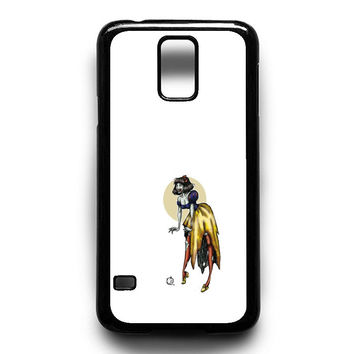 Zombie Princess Abstract Samsung S5 Case