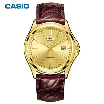 Luxury Watch Gold Quartz Men Wrist Clock table Casio classic