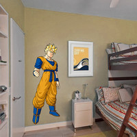 Gohan Decal - Wall Decal Printed and Die-Cut Vinyl Apply in any Flat Surface- Son Gohan - Dragon Ball Z Wall Decal Sticker