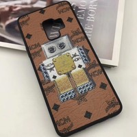 Perfect MCM Phone Cover Case For Samsung Galaxy s8 s8 Plus S9 S9 Puls note 8 note 9 iphone 6 6s 6plus 6s-plus 7 7plus 8 8plus iPhone X XS XS max XR