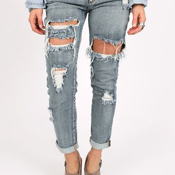 Don't Speak Jeans | Threadsence