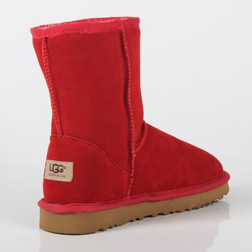 UGG 2018 winter new trend female models in the tube anti-skiing boots warm cotton boots