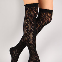 Rich Matey Thigh High Socks