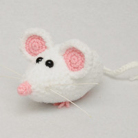 Crochet Mouse - Crochet toy - Toy - Mice - Handmade crocheted toy - Hand knitted and crocheted toy - For kids