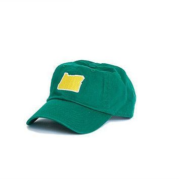 OR Eugene Gameday Hat in Green by State Traditions