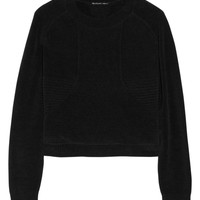 Theyskens' Theory Krolta cotton-blend chenille top – 65% at THE OUTNET.COM