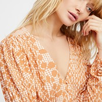 Free People Sweet On You Blouse