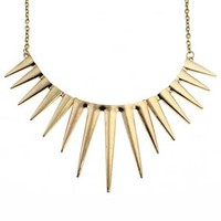 ROMWE | Shape Spikes Pendant Necklace(Halloween sale on Oct.26th), The Latest Street Fashion