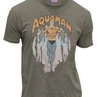 Junk Food Clothing Aquaman Rising Clay Adult T-shirt  - Shirts Sheldon Has Worn - | TV Store Online
