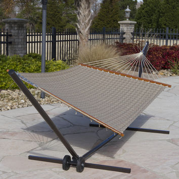 Houndstooth Quilted Hammock by Castaway
