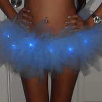 Blue LED Tutu Skirt