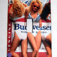 Light Switch Cover - Light Switch Plate Budweiser Beer Ad