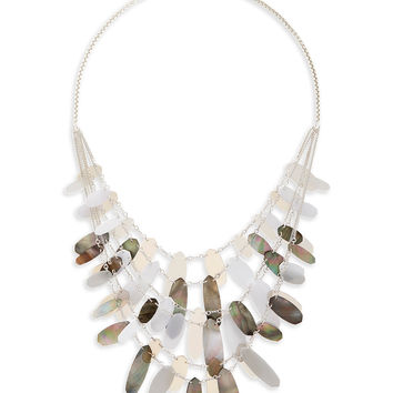 Patricia Statement Necklace in Neutral Mix | Kendra Scott