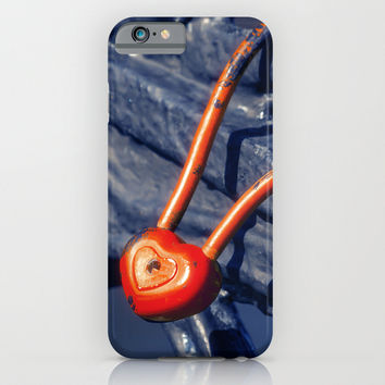 Lock on a Handrail iPhone & iPod Case by Cinema4design
