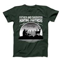 Father And Daughter Hunting Partners For Life T-Shirt