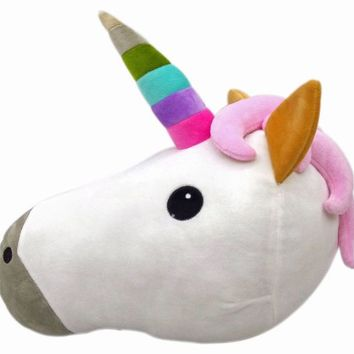 WEP Unicorn Stuffed Plush Pillow Toy, 32cm