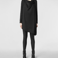 Womens Bayle Monument Coat (Black) | ALLSAINTS.com