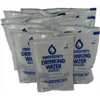 Datrex Emergency Water Packet - 3 Day/72 Hour Supply(12packets)