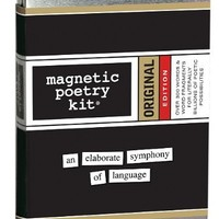 Original Magnetic Poetry Kit - All the Essential Words - Words for Refrigerator - Write Poems and Letters on the Fridge - Made in the USA