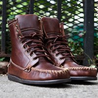 Sebago Seneca - Brown | 7 Shoes | Ronnie Fieg x Sebago