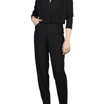 Easy Jersey Jumpsuit with Sleeves