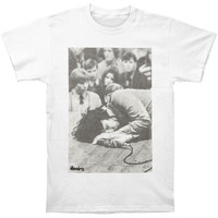 Doors Men's  On The Floor T-shirt White Rockabilia