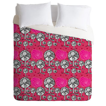 Julia Da Rocha Alice Was Here Duvet Cover