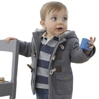 New Winter Newborn Baby Cotton Girls Coats & Jackets Casual Baby Warm Hooded Kids Boy Jackets Outerwear Clothes