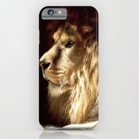 LION  iPhone & iPod Case by Ylenia Pizzetti