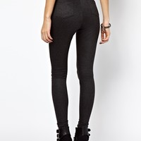 ASOS Tube Pants with Elasticated High Waist
