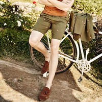 Summer England Style Slim Strong Character Pattern Pants Shorts [7951297347]
