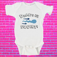 Daddy's Little Squirt Gerber Onesuit ®