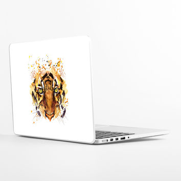 Tiger Eyes Laptop Skin