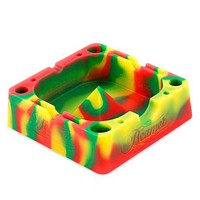 Silicone Ashtray w/ Holding Slots