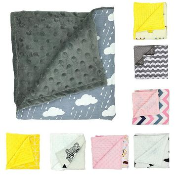 SO Soft!!! 80x75cm Fleece Baby Blanket  8 Different Variations!!