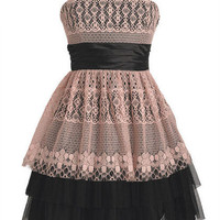 Allover Lace Party Dress