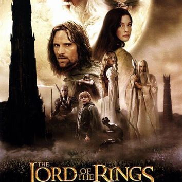 Lord of the Rings: The Two Towers 27x40 Movie Poster (2002)