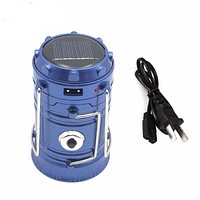 Rechargeable Collapsible Solar Outdoor Light
