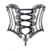 Alchemy Gothic Tightlace Corset Bangle Bracelet