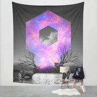 Made of Star Stuff Wall Tapestry by Soaring Anchor Designs
