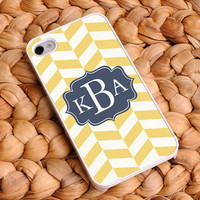 Personalized Chevron iphone covers - Coastal Classic 4