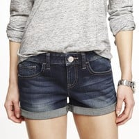 2 1/2 INCH DENIM SHORTS