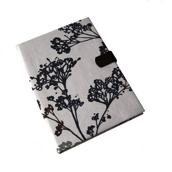 iPad Air 2 3 or 4 Mini Hard Case, iPad Cover, Queen Anne Lace i Pad stand up Magnetic Closure With Camera Hole