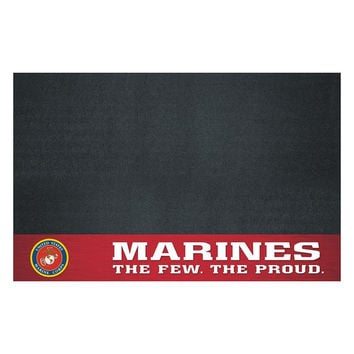 US Marines Armed Forces Vinyl Grill Mat